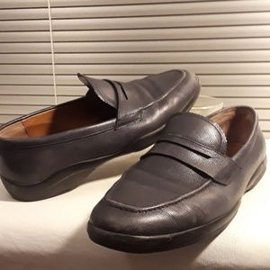 """Bally Blue Leather Driving Loafers """"Micson"""""""